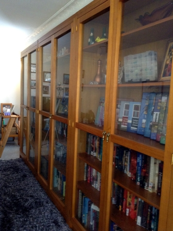 My beautiful bespoke bookcases