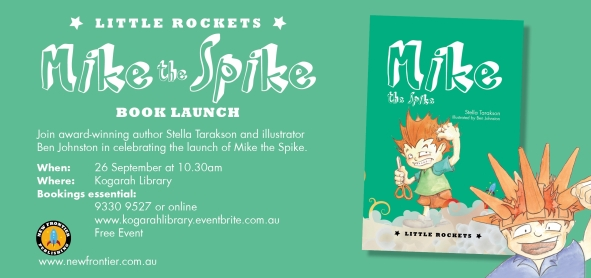 Book launch_Mike the Spike