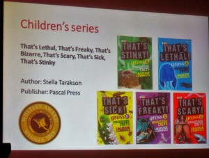 The Whitley Award 2015 - Best Children's Series